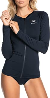 Women's Essentials Long Sleeve Zip-Up Rashguard