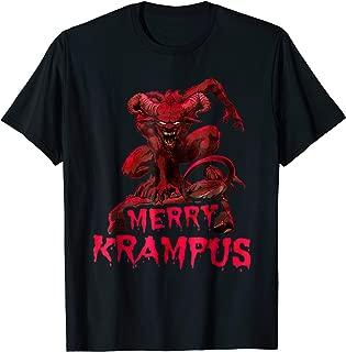 Merry Krampus t-shirt monster, devil