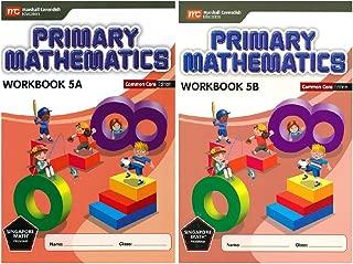 Primary Mathematics Workbook Bundle 5A+5B (Common Core Edition)