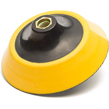 Uerglass Rotary Polisher Grinder Backing Pad M10 Dia 5 Inch
