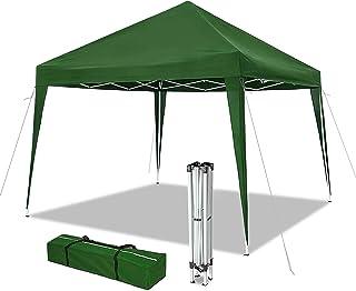 comprar comparacion VOUNOT Cenador de jardín 3x3m Plegable | Carpa de jardín Plegable rápida para Instalar | Toldo Plegable para Camping, Fest...