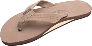 Men's Premier Leather Single Layer Wide Strap with Arch