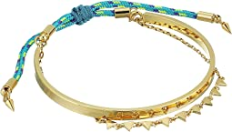 Rebecca Minkoff - Ellie Pre-Layered Triangles Bracelet