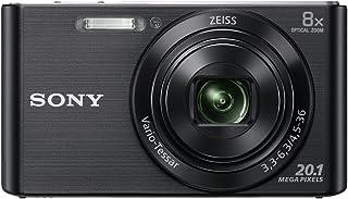 Sony DSC-W830 - Cámara compacta de 20.1 Mp (pantalla de 2.7 zoom óptico 8x estabilizador óptico) negro