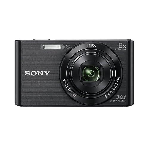 Sony DSC-W830 Appareil Photo Numérique Compact, 20.1Mpix, Zoom Optique 8x, Stabilisation Optique - Noir