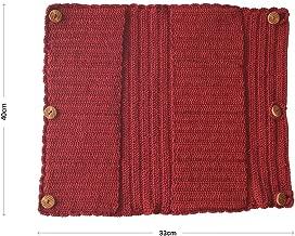 Kraftroom Crocheted Organizer (Maroon, 33 cm x 40 cm)