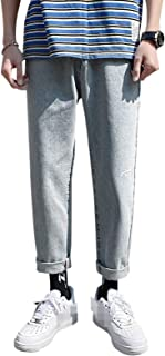 Mens Stretch Skinny Slim Fit Flex Jeans Pant Stretchable Denim Summer Straight