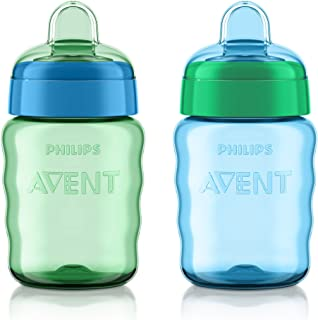Philips Avent My Easy Sippy Cup, 9 Ounce, Blue/Green,...