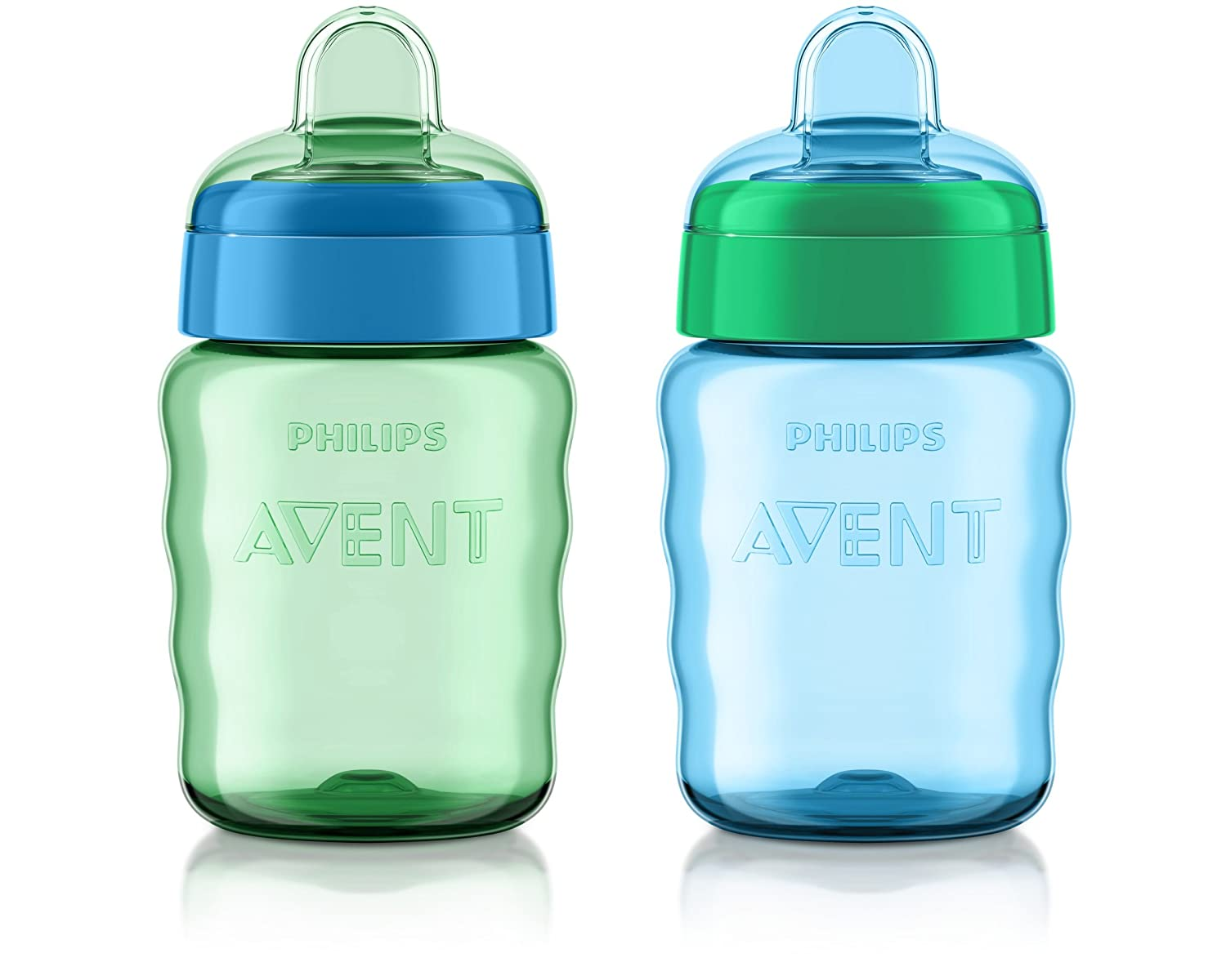 Philips Avent Max 69% OFF San Antonio Mall My Easy Sippy Cup 9 Ounce Blue 2 Green Stage C