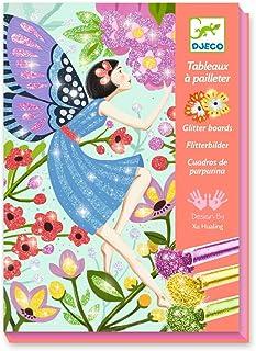 DJECO - Tableaux pailletés La douceur des fées formes et couleurs (DJ09516)