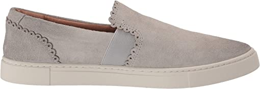 White Sky Hairy Suede