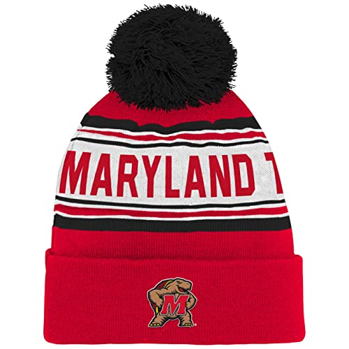 98eb790af1bce9 NCAA by Outerstuff NCAA Kids & Youth Boys Cuffed Knit with Pom Hat