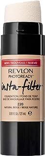 Revlon Photoready Insta-Filter Foundation, Natural Beige - 0.27 gm