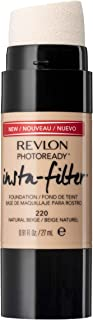 Revlon PhotoReady Insta-Filter Foundation, Natural Beige, 27ml
