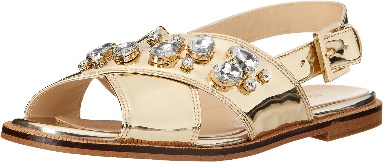 Nine West Womens Ostina Patent Dress Sandal