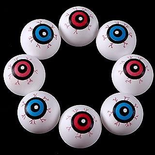 Sizonjoy 20 Pieces Plastic Eyeballs, Halloween Scary Decoration Prop Halloween Party Favors… (Eyeball)