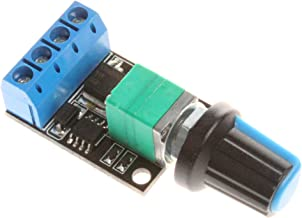 NOYITO 10A Mini PWM Controller DC Governor Switch 0% to 99% 5V to 16V Stepless Speed Switch