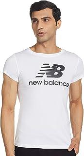 New Balance Women Nb Essentials Stacked Logo Tee Top