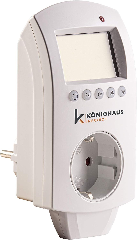 Könighaus Steckdosenthermostat mit Funk