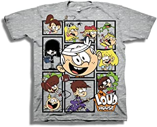 Nickelodeon Little Boys' The Loud House Short Sleeve T-Shirt