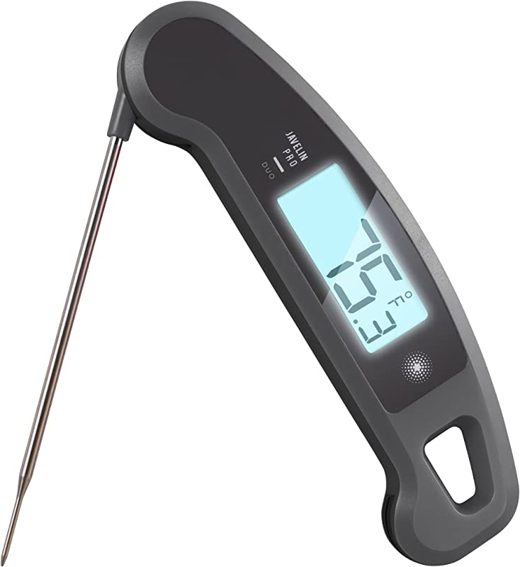 Lavatools Javelin PRO Duo Ambidextrous Backlit Instant Read Digital Meat Thermometer Sesame