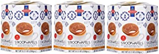 Daelmans Original Wafer, Caramel Stroopwafel 8.11 Ounce Hex (Pack of 3)
