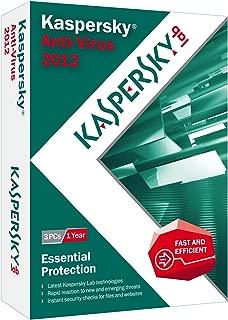 Kaspersky Anti-Virus 2012 - 3 PCs [Old Version]