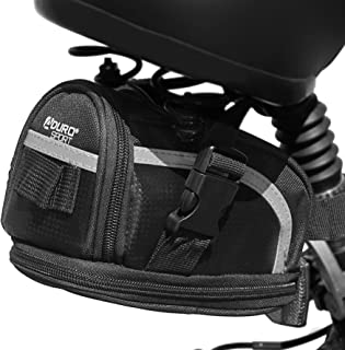 Aduro Sport Bike Saddle Bag Expandable Bicycle Seat Bag...