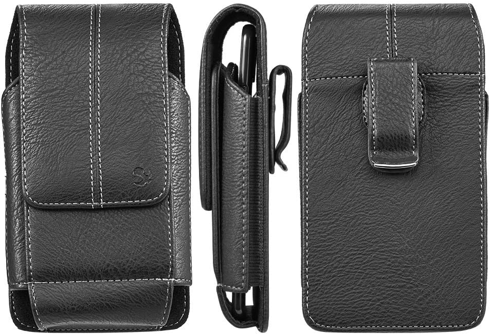 Belt Phone Holster Holder for Samsung Galaxy S21 Plus 5G, S21 Ultra 5G, S21 5G, A22 A52 A72 A32 A02
