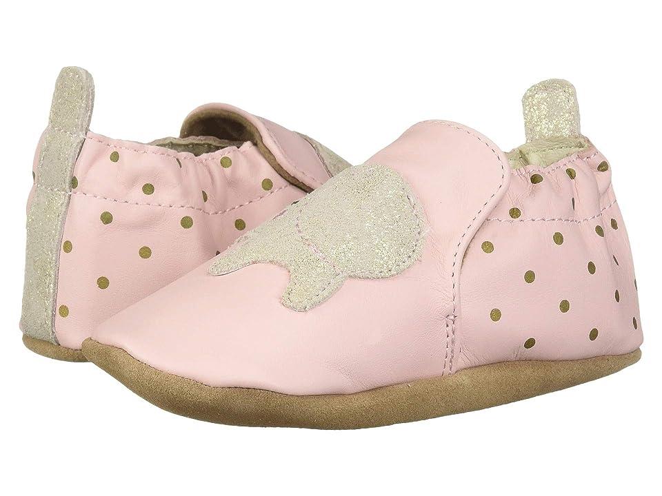 Robeez Ella Elephant Soft Sole (Infant/Toddler) (Pink) Girl