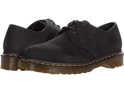 Dr. Martens 1461 Milled Nubuck (Black) Shoes