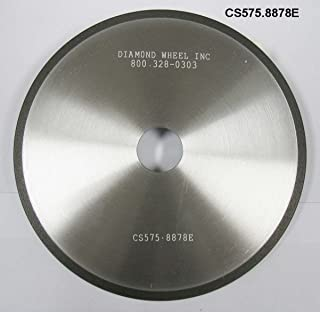 """Diamond Super Abrasive CBN 5-3/4"""" Chainsaw Wheels for ¼ and .325 Pitch Steel Chains"""