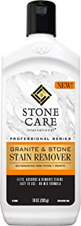 Stone Care International Stone Stain Remover - 10 Ounce - Stain Remover for Food, Coffee, Red Wine, Ink, Mildew, Oil Stains