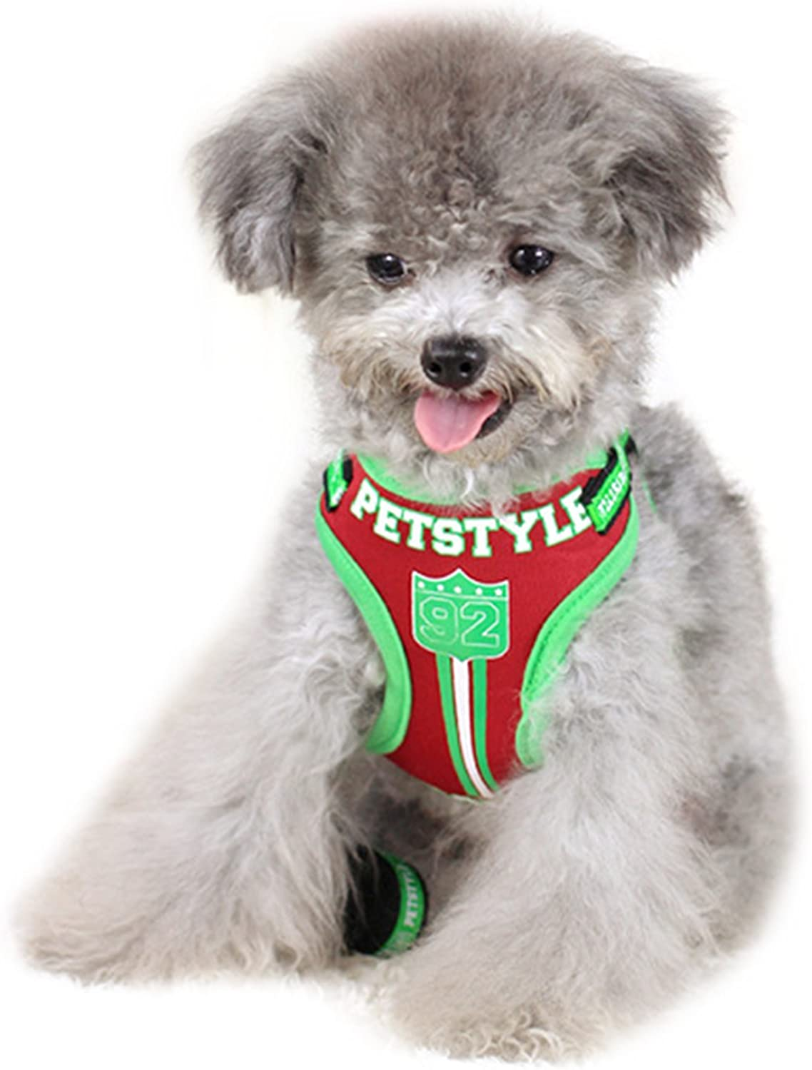 Alfie Pet by Petoga Couture  Palmer Stepin Harness with Leash Set  color  Red, Size  Small