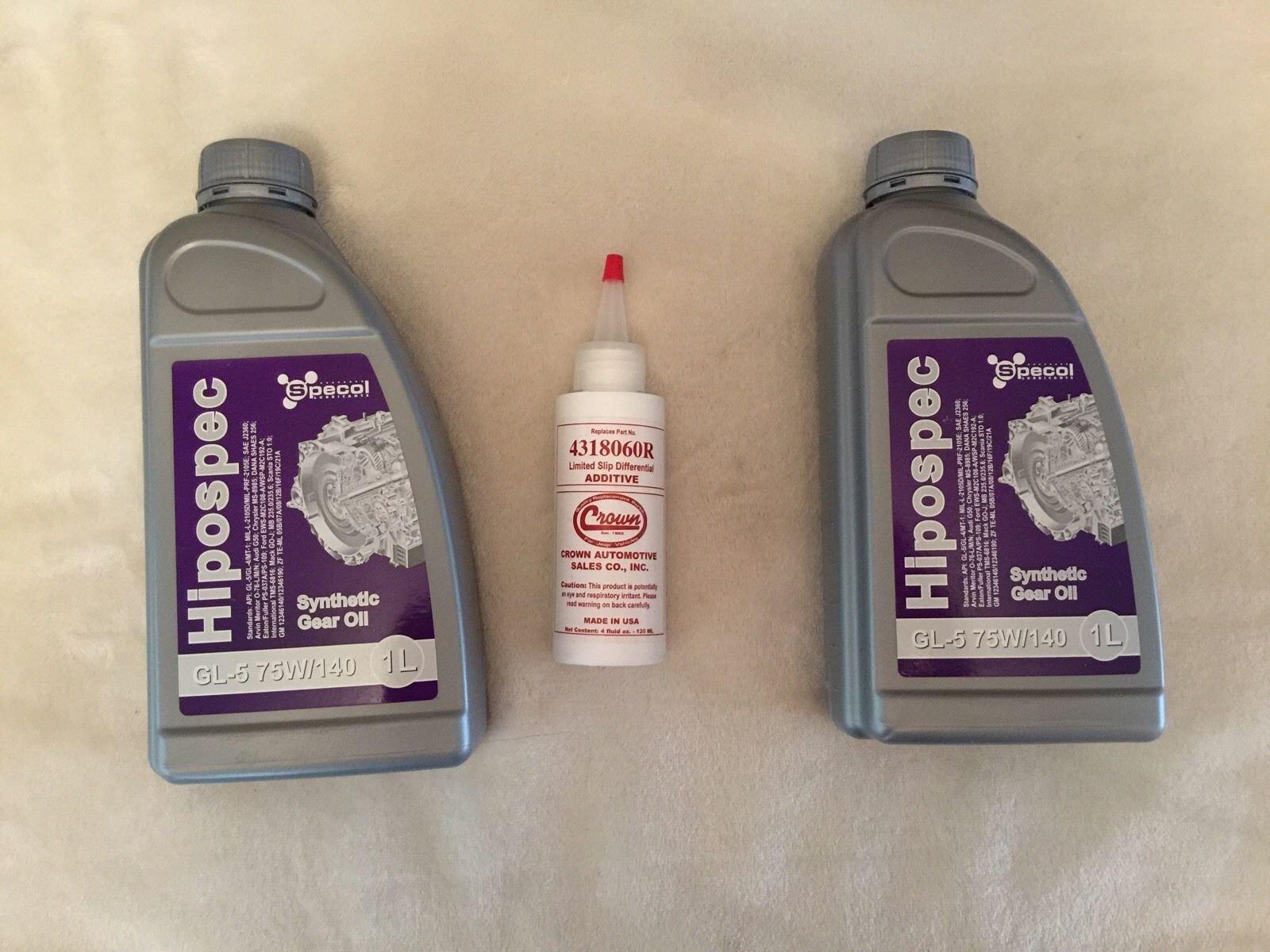 CROWN HIPOSPEC Aditivo de eje para reducir la fricción y eliminar ...