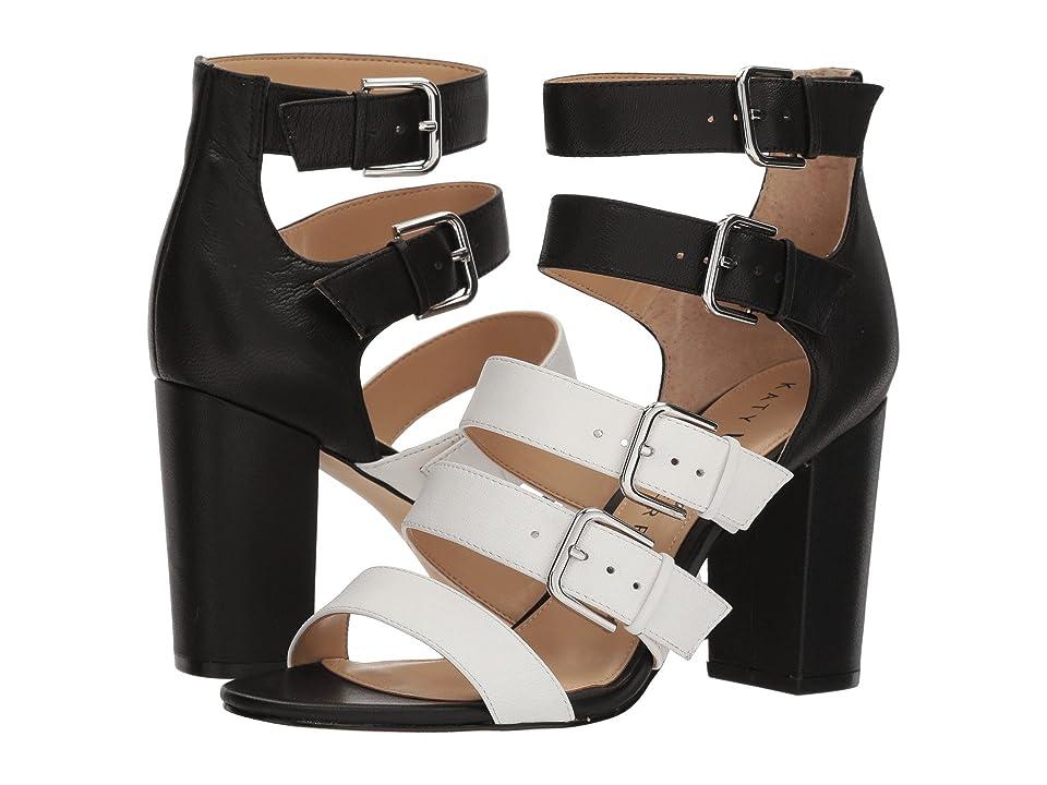 Katy Perry The Lizette (White/Black Soft Tumbled Leather) Women