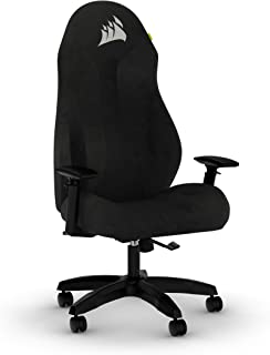 CORSAIR TC60 Fabric Gaming Chair - Relaxed Fit - Black