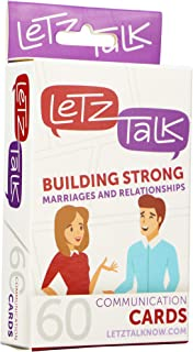 LetzTalk Conversation Starters for Couples - Helps Build Strong Marriages and Relationships