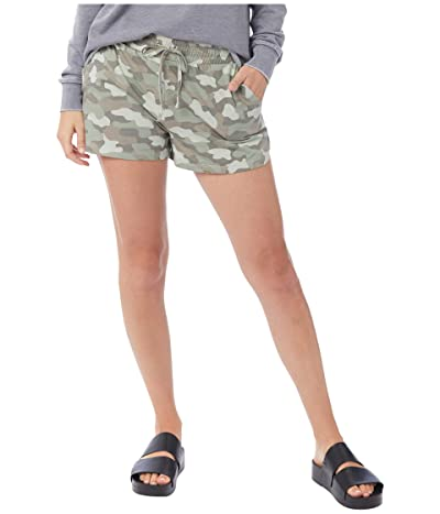 Alternative Jersey Shorts (Light Moss Shaded Camo) Women
