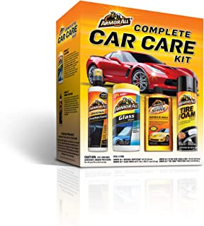 Armor All 13703C ARMORALL 4 PIECE COMPLETE CAR CARE KIT 1