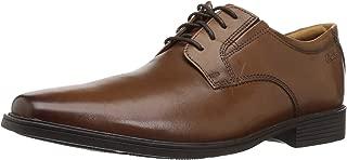 Clarks 男式 Tilden Plain 皮鞋