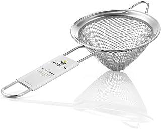 Fine Mesh Sieve Strainer Stainless Steel Cocktail Strainer Food Strainers Tea Strainer 3.3 inch by Homestia