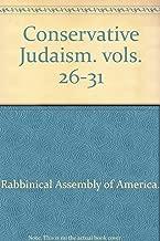 Conservative Judaism. vols. 26-31