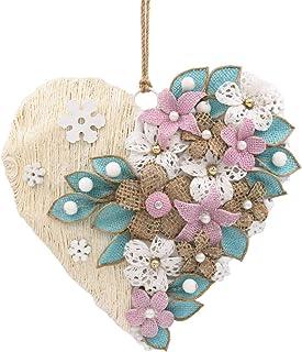 Ghirlanda di fiori, Ghirlanda a cuore, Ghirlanda porta, Ghirlanda Inverno