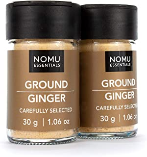 Nomu Essential Spices Ginger Ground (2.12 oz | 2-pack) | Non-GMO, Non-Irradiated
