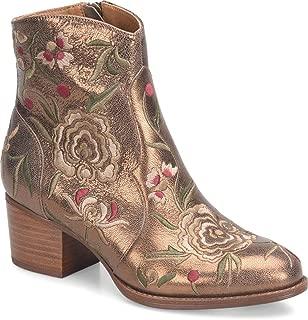 metallic copper boots