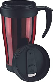 TOPICO Unisex młodzieżowy kubek rozgrzewający, czerwony, Ø 8,2 x 17,7 cm