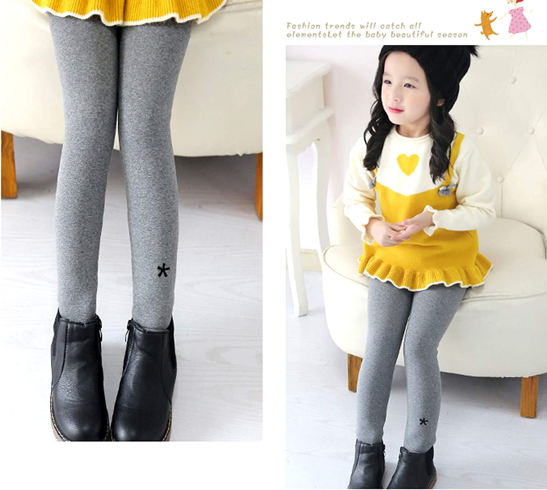 Govc Girls Winter Warm Fleece Lined Leggings Kids Thick Velvet Tights Pants