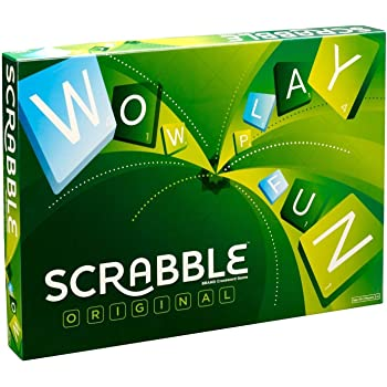 Mattel Scrabble Board Game, Multi Color