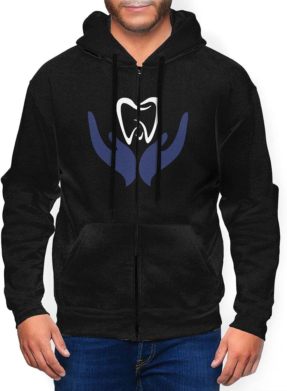 Dental Hygienist 5 popular Mens Full Zip Sports Sleeve Sacramento Mall Sweatshirt Hoo Long